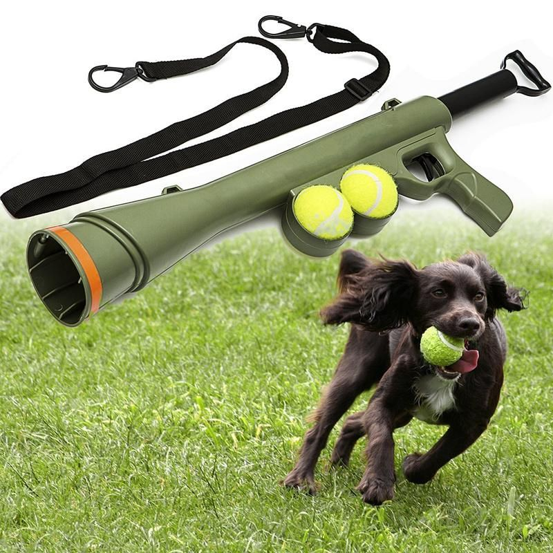 Tennis Ball Launcher Toy Pet Hound Catstagram Doglovers Instagramcats Doggo Kittens Dogsitting Cats In Interactive Dog Toys Dog Toys Best Dog Toys