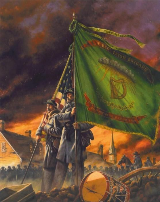 the irish brigade during the civil war Browse the latest the irish brigade videos and more on historycom  the civil war and its legacy 3min play video abraham lincoln 4min play video john brown&#8217s harpers ferry 5min.