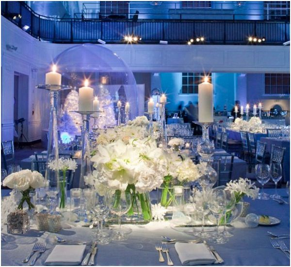 White is for Good Vibes … and Amazing Centerpieces