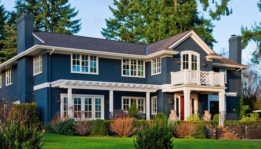 lately i have been noticing a new trend in exterior paint on exterior home paint ideas pictures id=97977