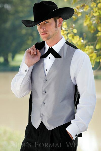 Stephen Geoffrey Troy Black Western Tuxedo Country Style