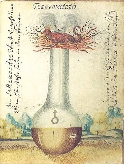 Alchemical Imagery - Emblematic - Manuscripts - Ulrich Ruosch