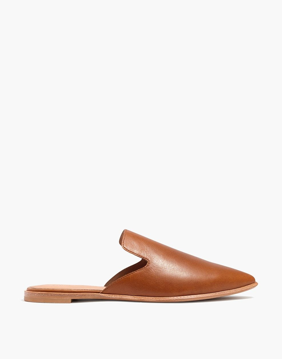 0cd1a6fe3c18 The Gemma Mule in Leather   flats