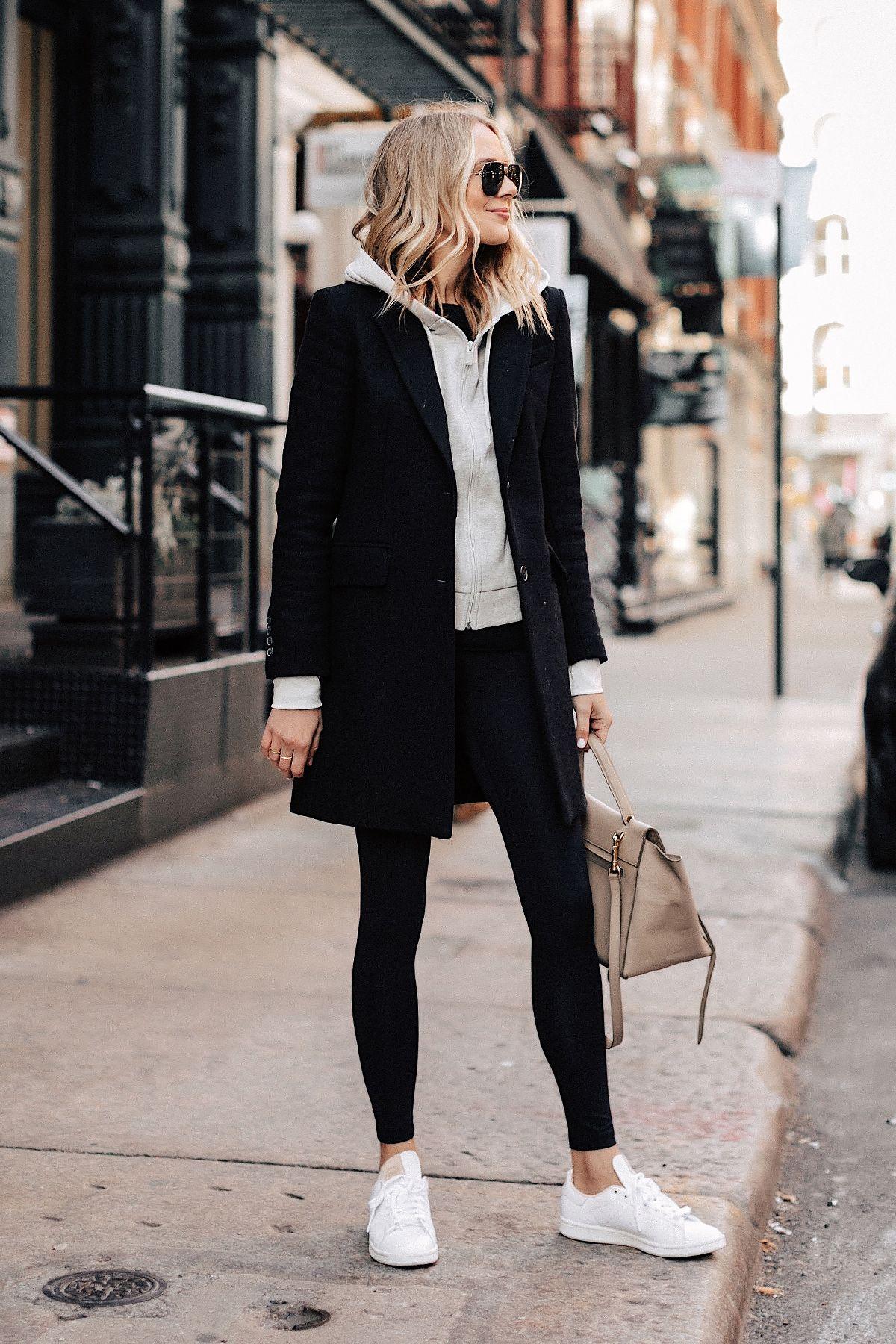 Adidas Stan Smith Sneaker Outfit | Fashion Jackson – Fashion Jackson Wearing Bla… – Street Style