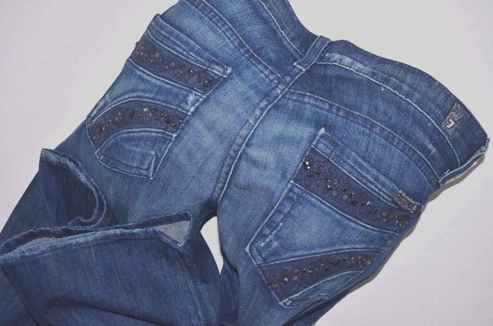 New Ladies 7 For All Mankind Gem Stretch Bootcut Jeans Women Size