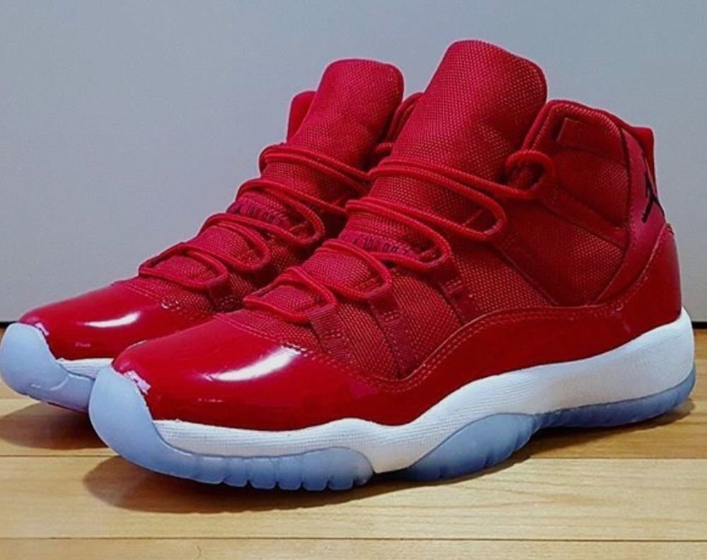 51211e2e51b7 RED JORDAN 11s size 9 1 2(in the box)like new  fashion  clothing  shoes   accessories  mensshoes  athleticshoes (ebay link)