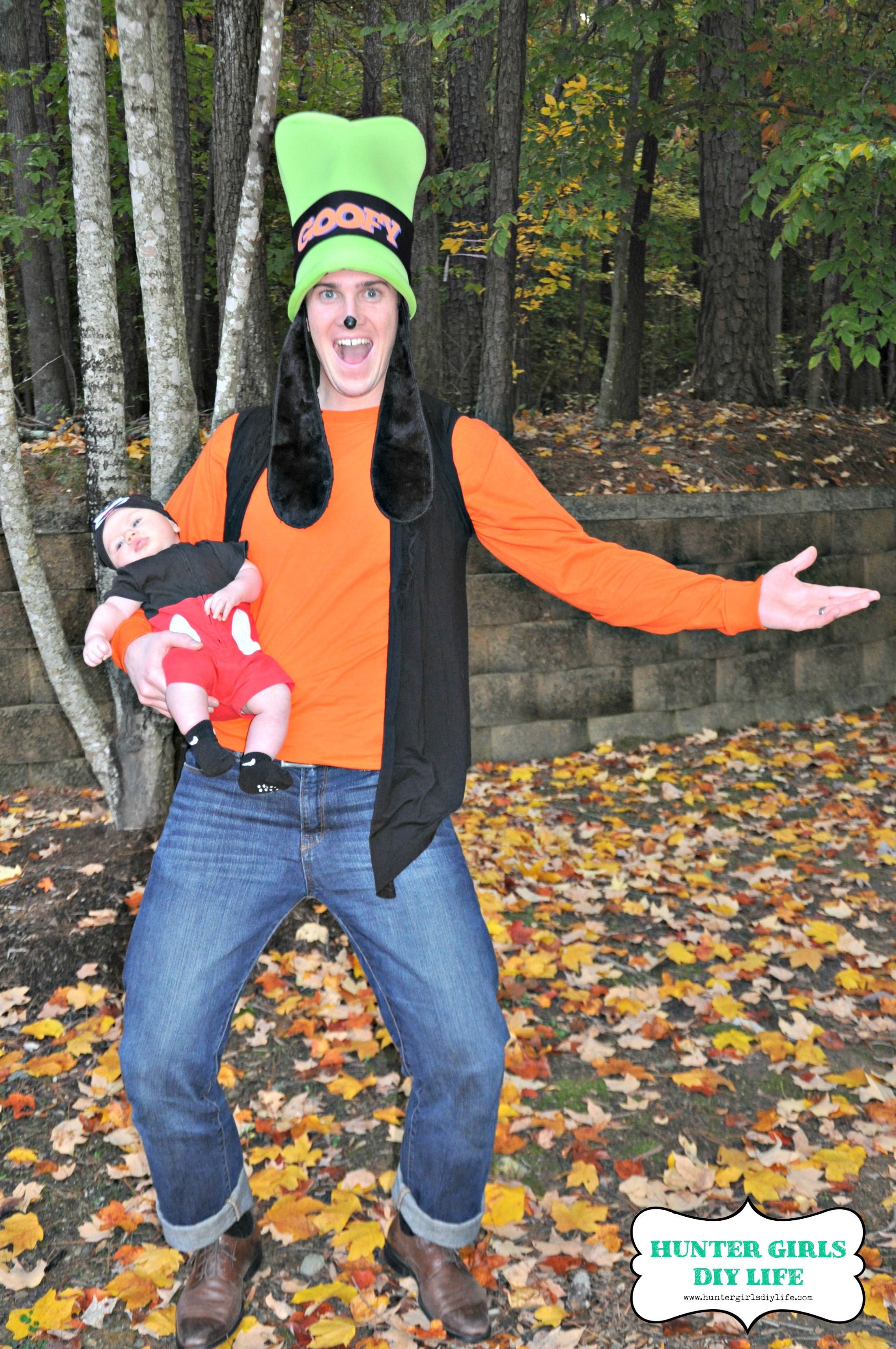 Mickey and Goofy Costume … Mickey mouse halloween