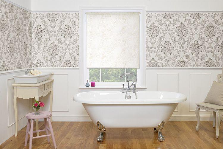Marble Naxos Roller Blind Marbles - Waterproof roller blind for bathroom for bathroom decor ideas