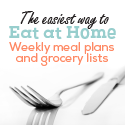 Weekly Meal Plans All Slow Cooker and Traditional January 13 Eat at Home