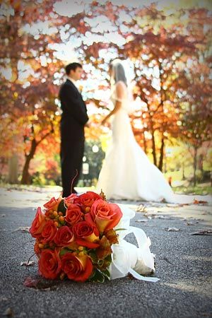 I love fall weddings!