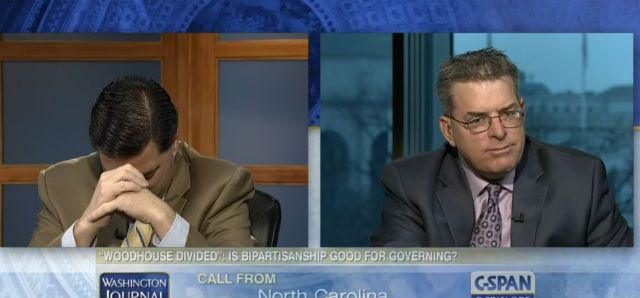 Mom Calls Into C-SPAN To Yell At Politically-Opposed Pundit Sons