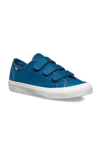 7a6330bdc13fb8 Vans Sneakers Prison Issue - Twill (Blues Ashes Blanc De Blanc ...