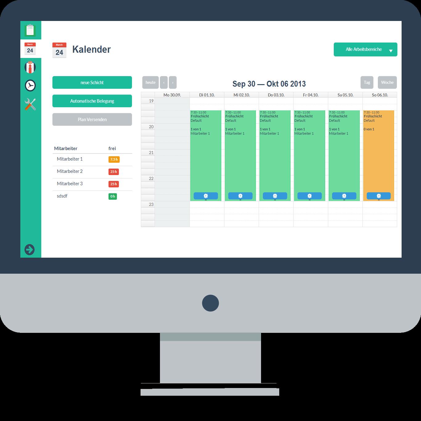 Der Dienstplan Online Papershift Dienstplan Dienstplan Erstellen Planer