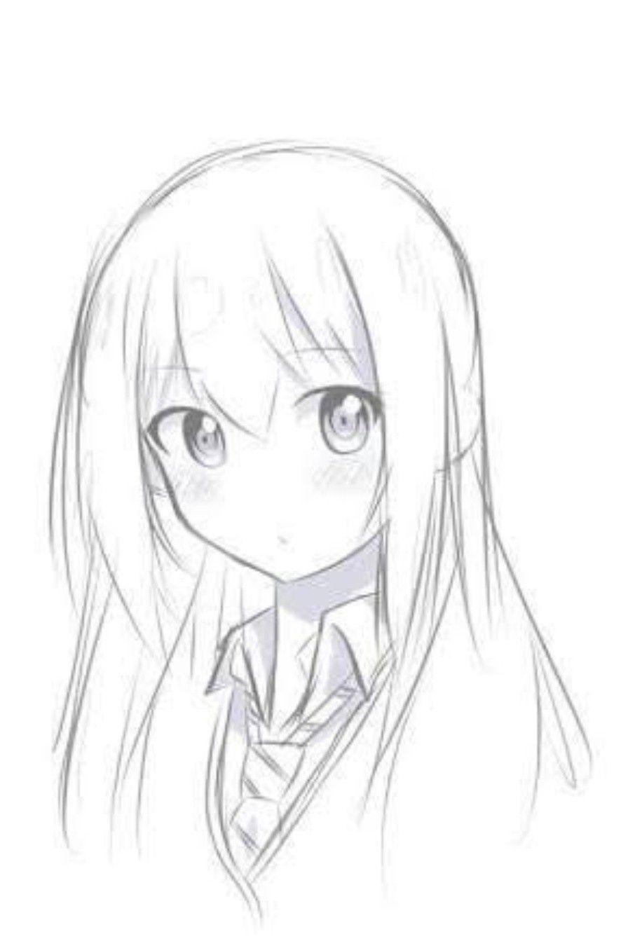 Anime Cewek Di 2020 Ilustrasi Lukisan Seni Anime Sketsa