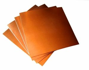 8 Mil 8 X 12 Copper Sheets Pk Of 2 Copper Sheets Copper Post Metal