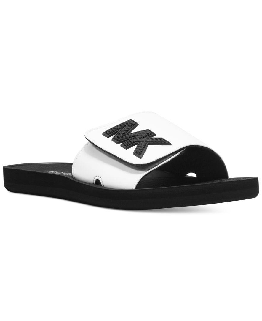 6fd451e41 MICHAEL Michael Kors MK Shower Slide Sandals - Sandals - Shoes - Macy s
