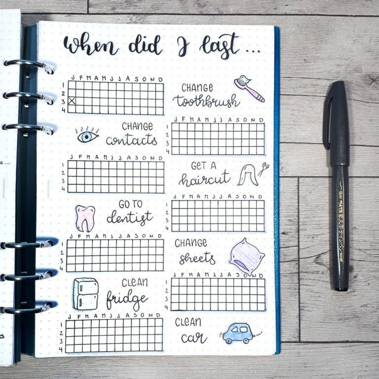 Photo of 22 bullet journal cleaning schedule trackers to keep your home squeaky clean