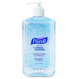Purell 12 Count Fragrance Free Hand Sanitizer Gel 3023 12 In 2020