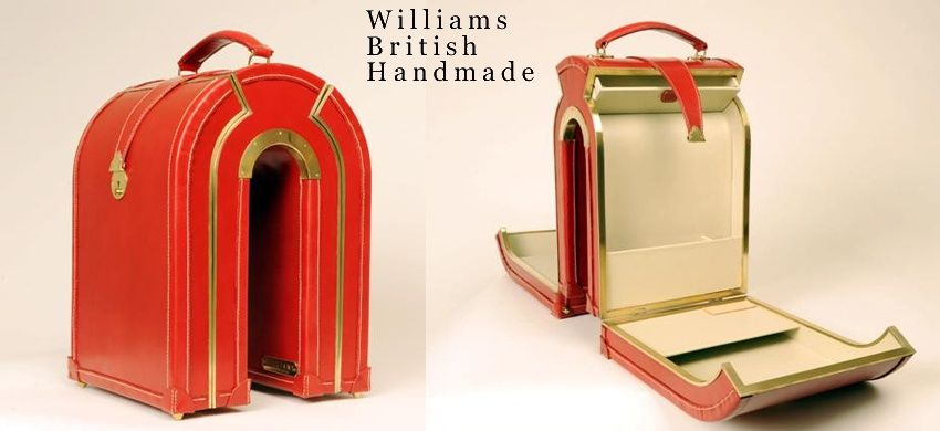 Williams British Handmade luggage. How unique is this?! | Products ...