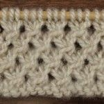 How to Knit the Make Knot Stitch