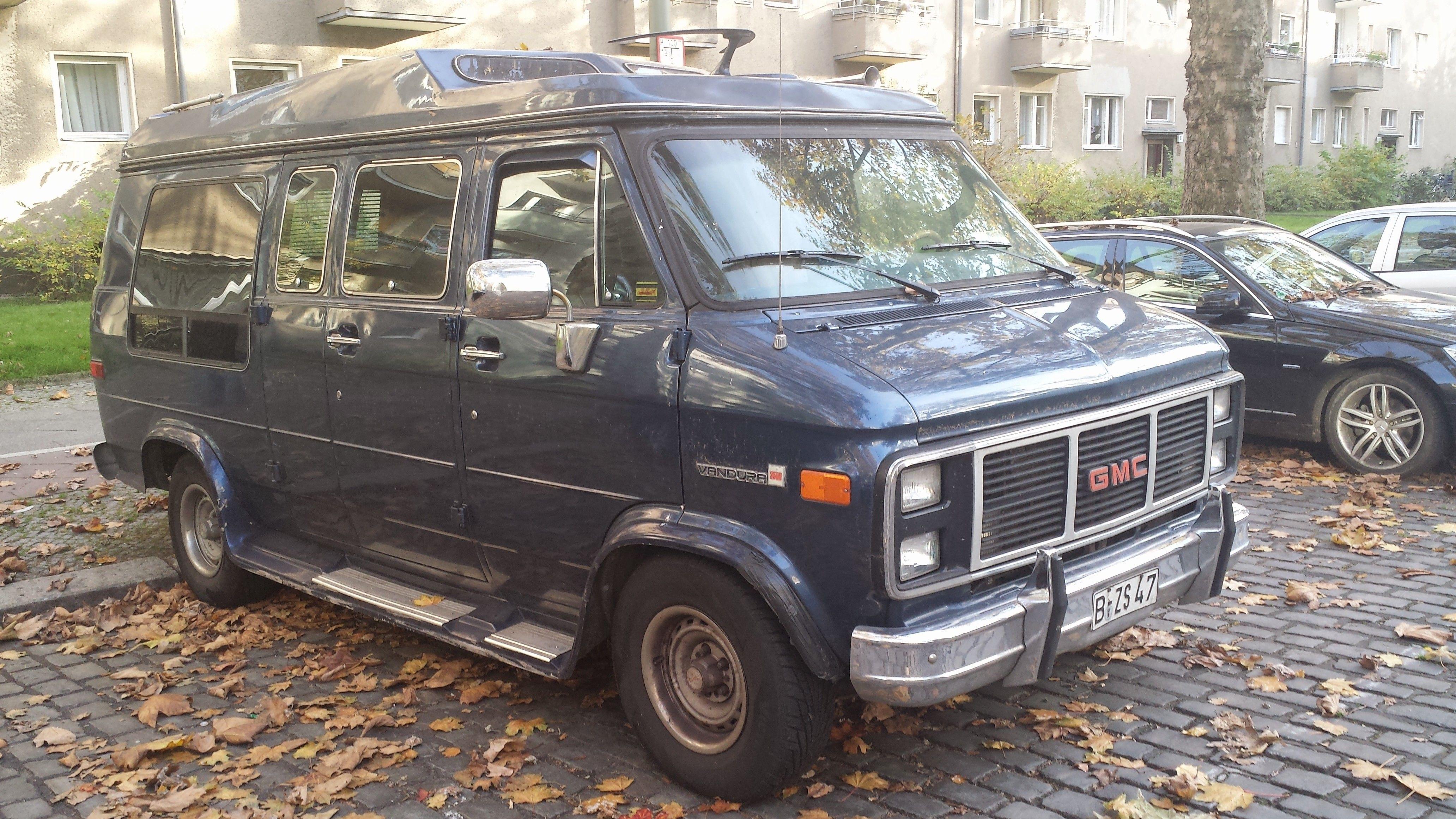 1985 Gmc Vandura G2500 Berlin Schoneberg Gmc Vans Chevy Van