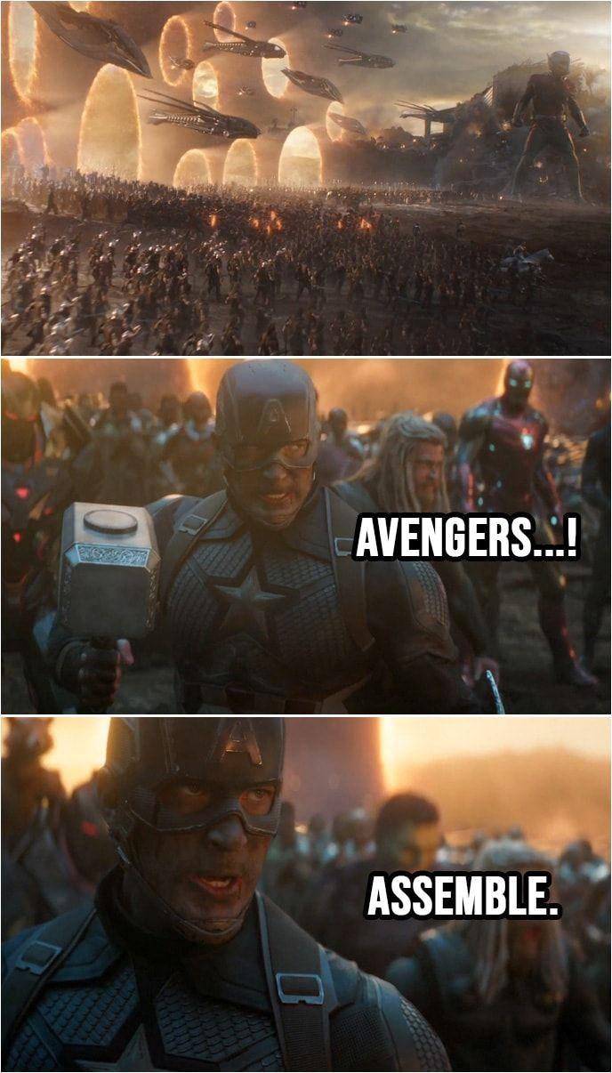 Avengers…! Assemble