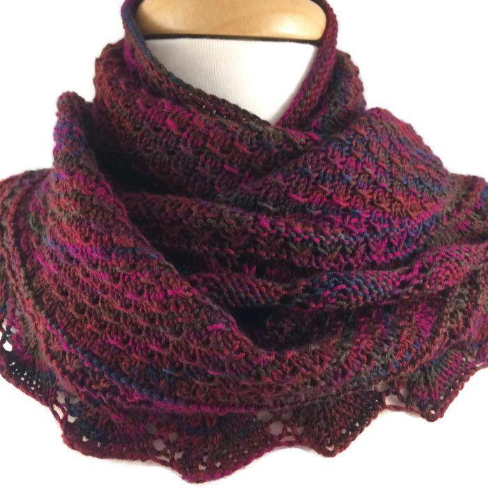 Rich Autumn Ladies Wool Shawl Shrug Wrap Scarf #cpromo