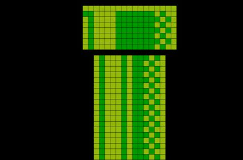 Pin On Brik Pixel Art Designs
