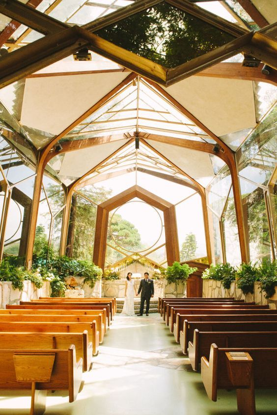 Romantic indoor wedding ceremony venue decoration ideas spring fall or winter weddings photography also rh pinterest
