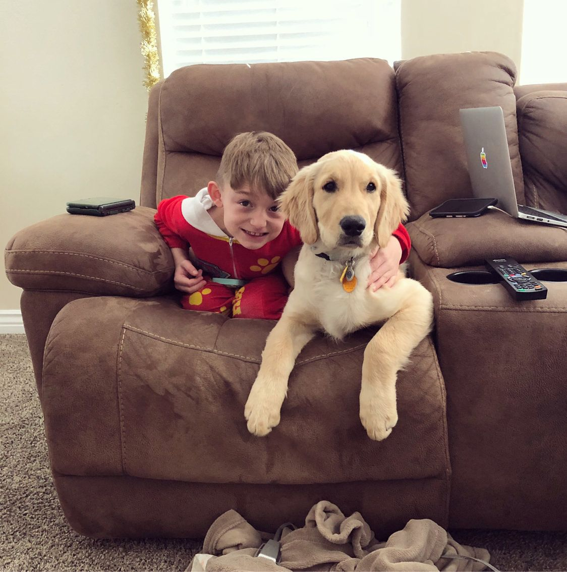 Just A Boy And His Pup Having A Lazy Sunday Happy Sunday Everyone Happy Sunday Everyone Pup Lazy Sunday