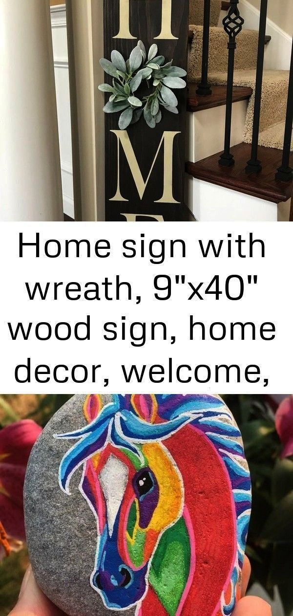 sign with wreath 9 x 40 wooden sign home decor welcome home sweet home fixer upper style 1 940 homeMain sign with wreath 9 x 40 wooden sign home decor welcome home sweet...
