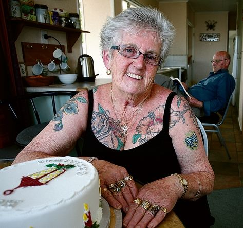 Tattooed Granny... | If I'm Ever a (really awesome ...