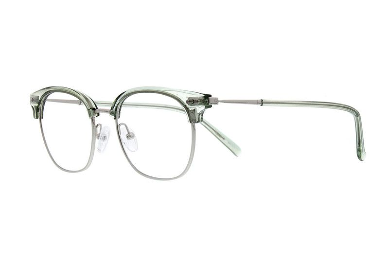 18730dcbbdc Pink Browline Glasses  7815919