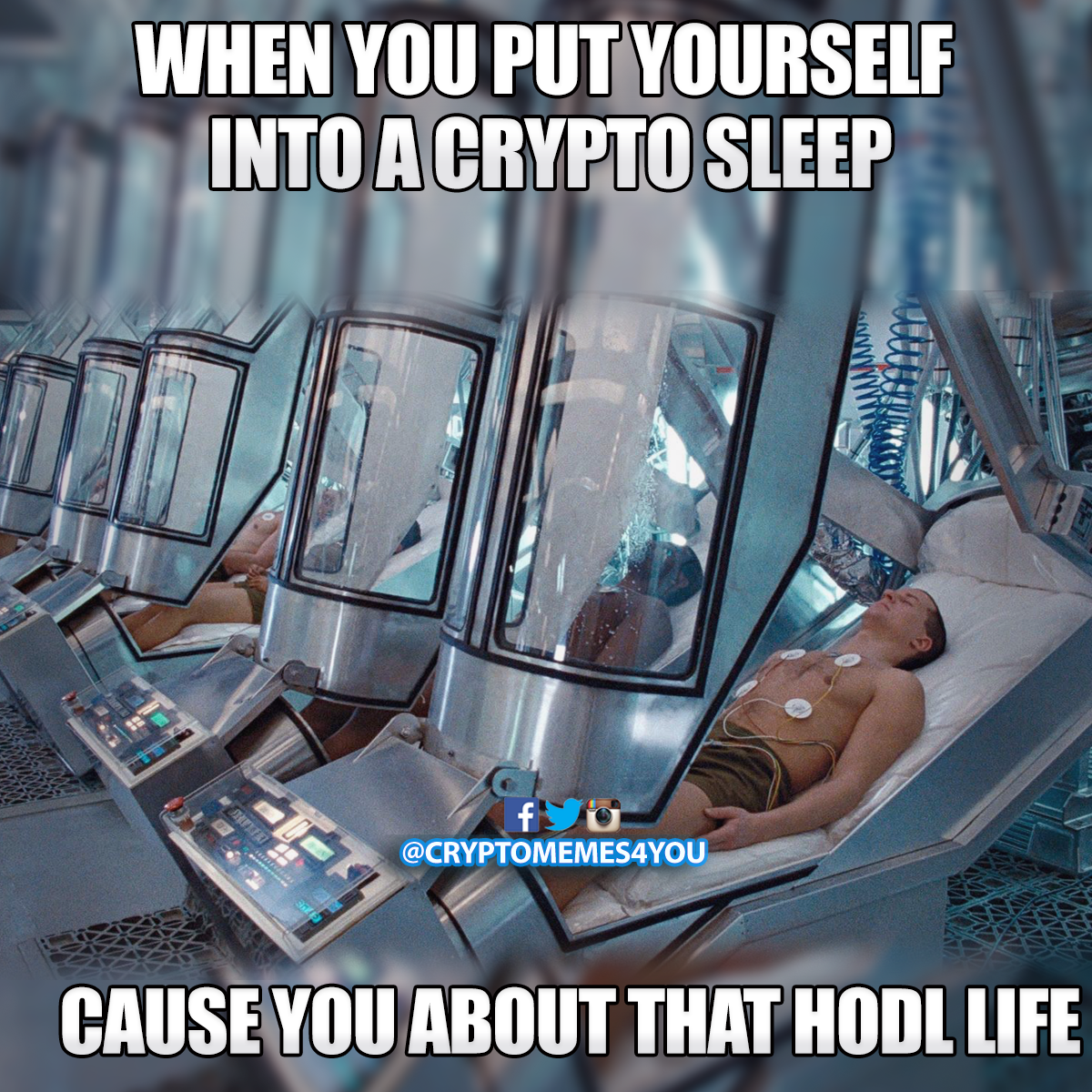 Go To Sleep Wake Up And Be Rich Crypto Overnightrich Cryptomemes Bitcoin Blochain Best Crypto Money Strategy Life