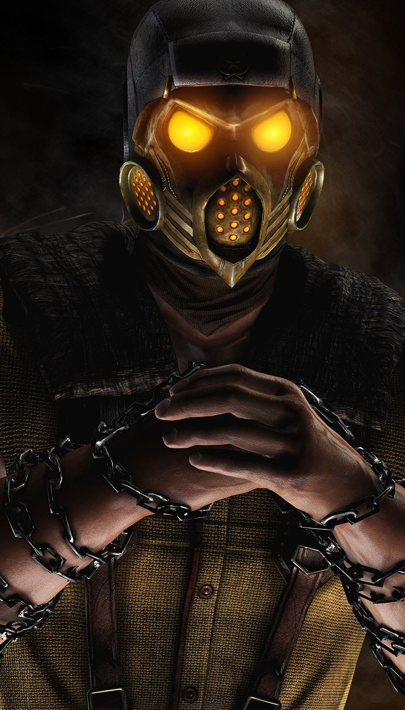 Scorpion Mortal Kombat X Game Hd Widescreen Wallpapers Free