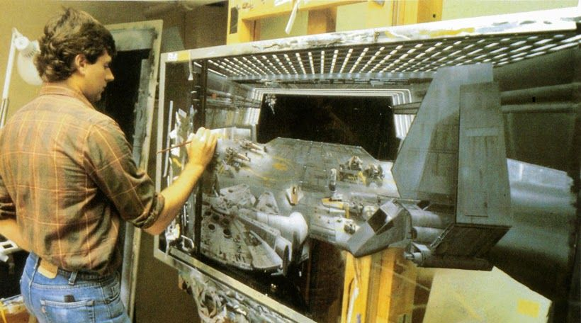 How The Original Star Wars Trilogy Fooled Everyone With Matte - Scenes original star wars created cgi