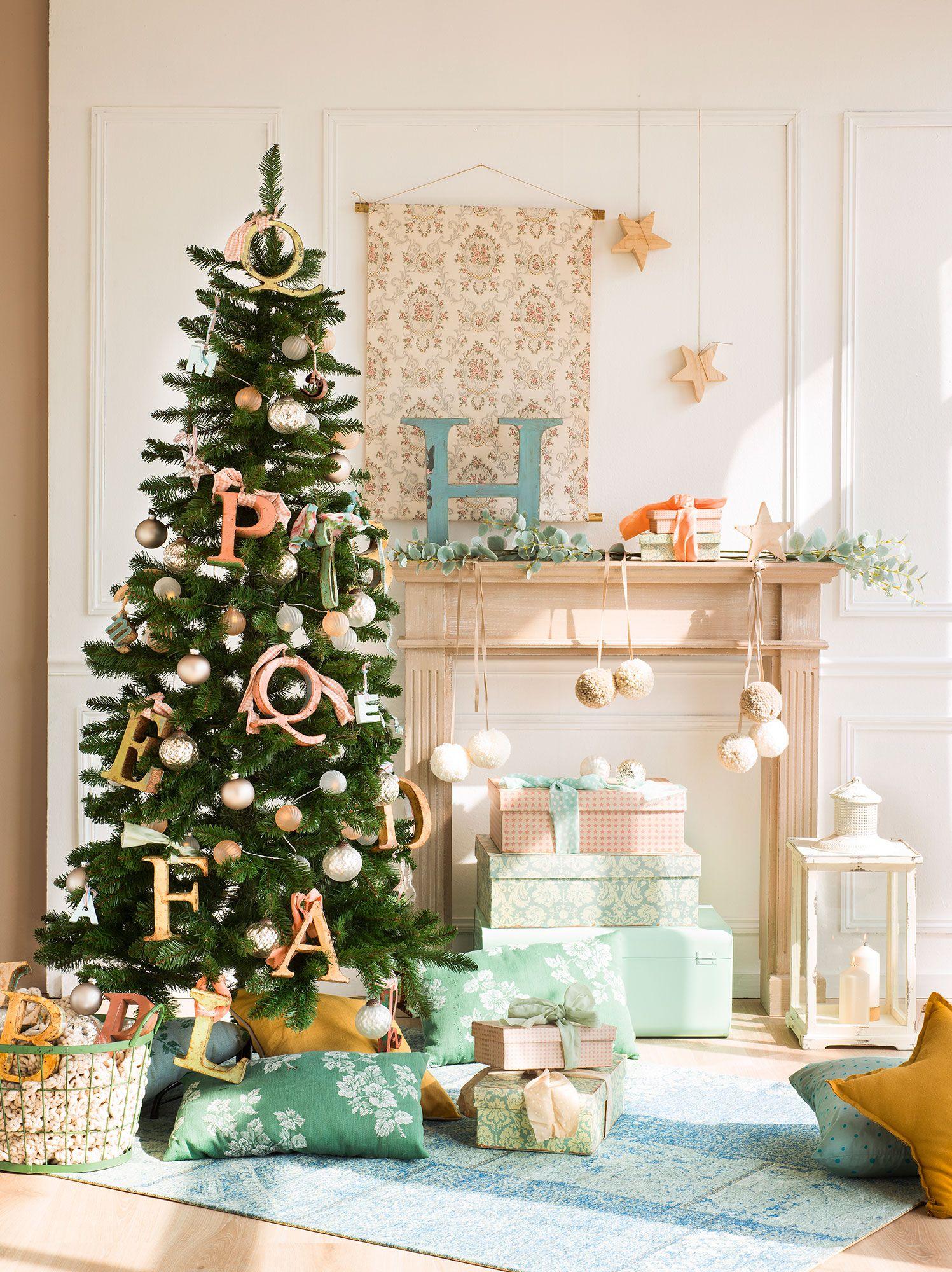 Ideas para decorar el rbol de navidad 3 rboles 3 - Manualidades para decorar el arbol de navidad ...
