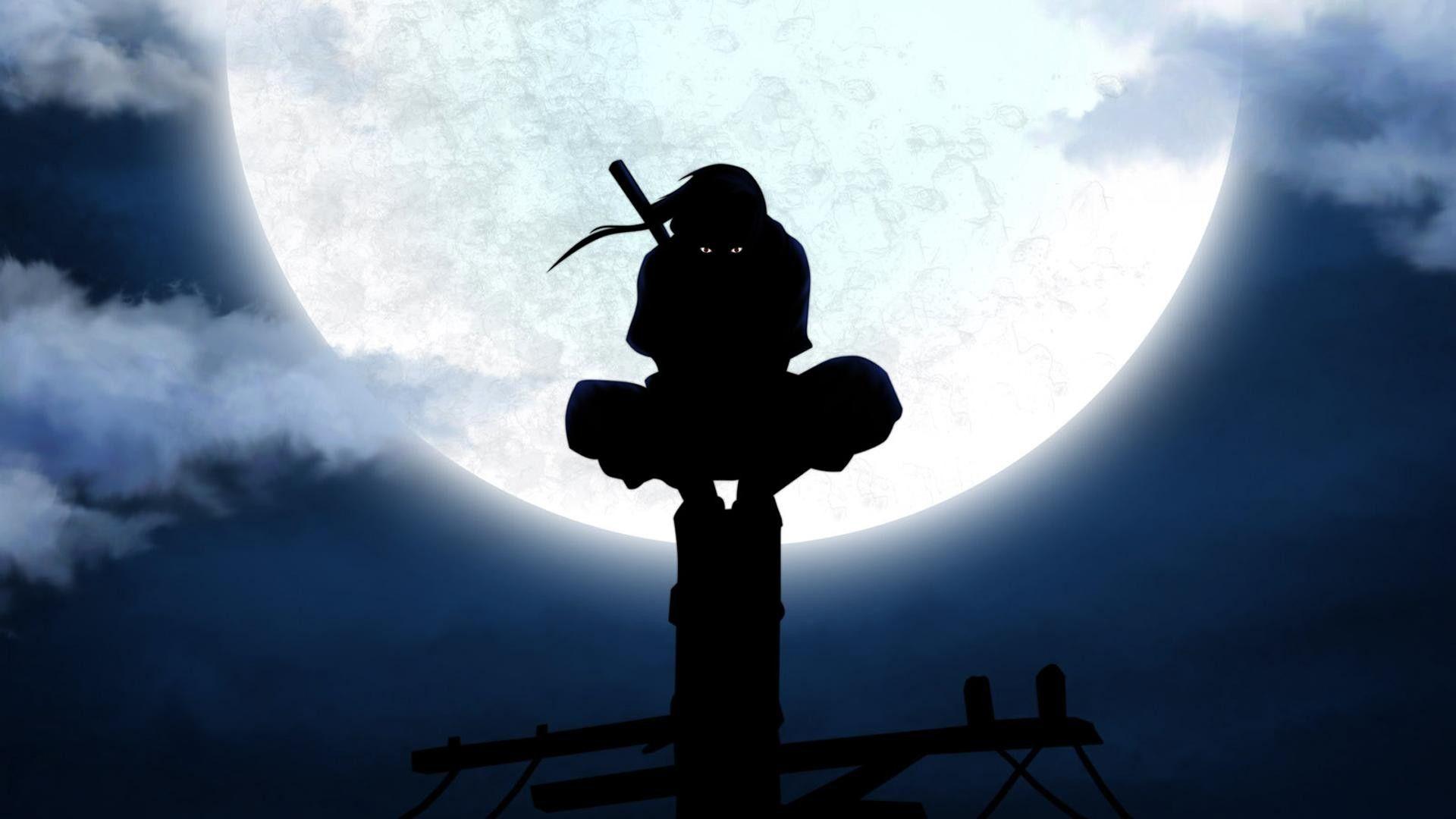 Ninja Traidor Iluminado Pela Lua Papel De Parede Pc