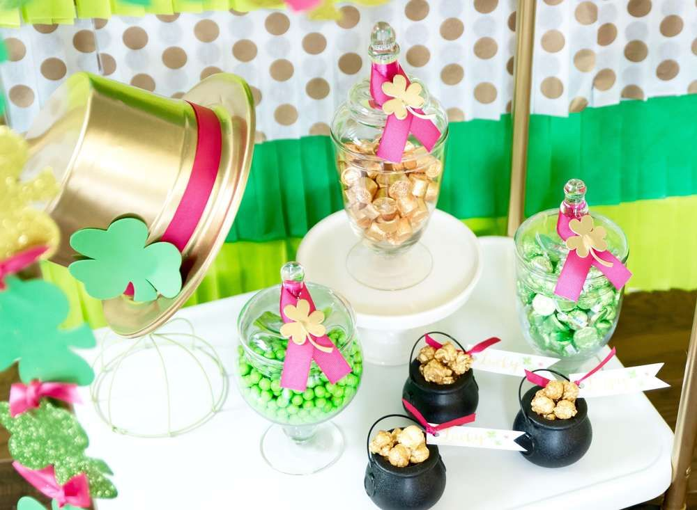 Stay Golden St. Patrick's Day Party Ideas Karas party