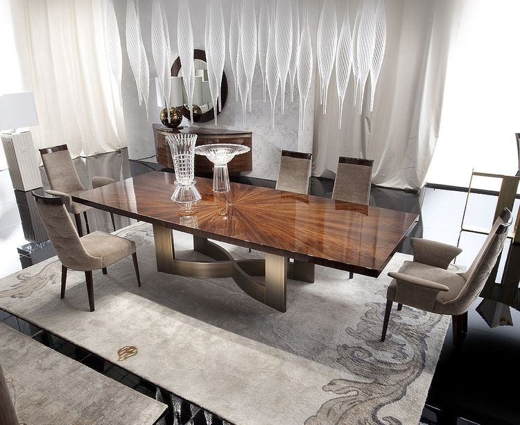 The Coliseum Fixed Dining Table From The Giorgio Collection Made