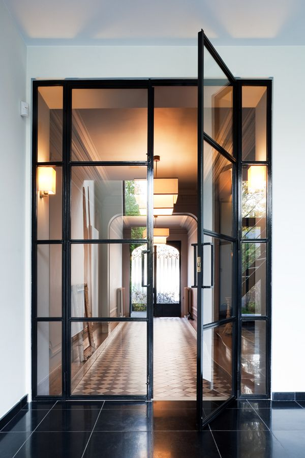 Brussels townhouse renovation WAVEarchitecture