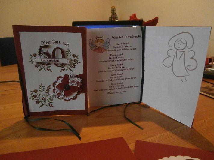 Geburtstagskarte Zum 50 Geburtstag Im Doppelpack Fur Die Zwillinge