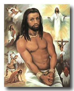Black Jesus Quotes Entrancing African American Art & Print Black Jesus  Black Jesus And
