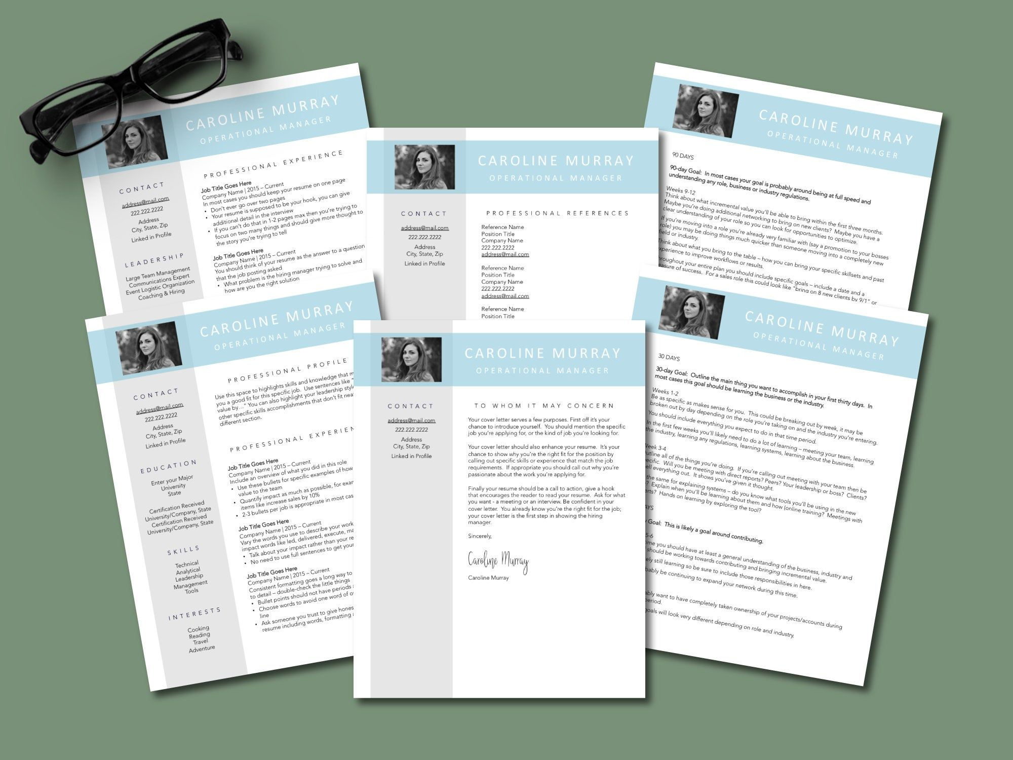 professional interview package bundle for job search