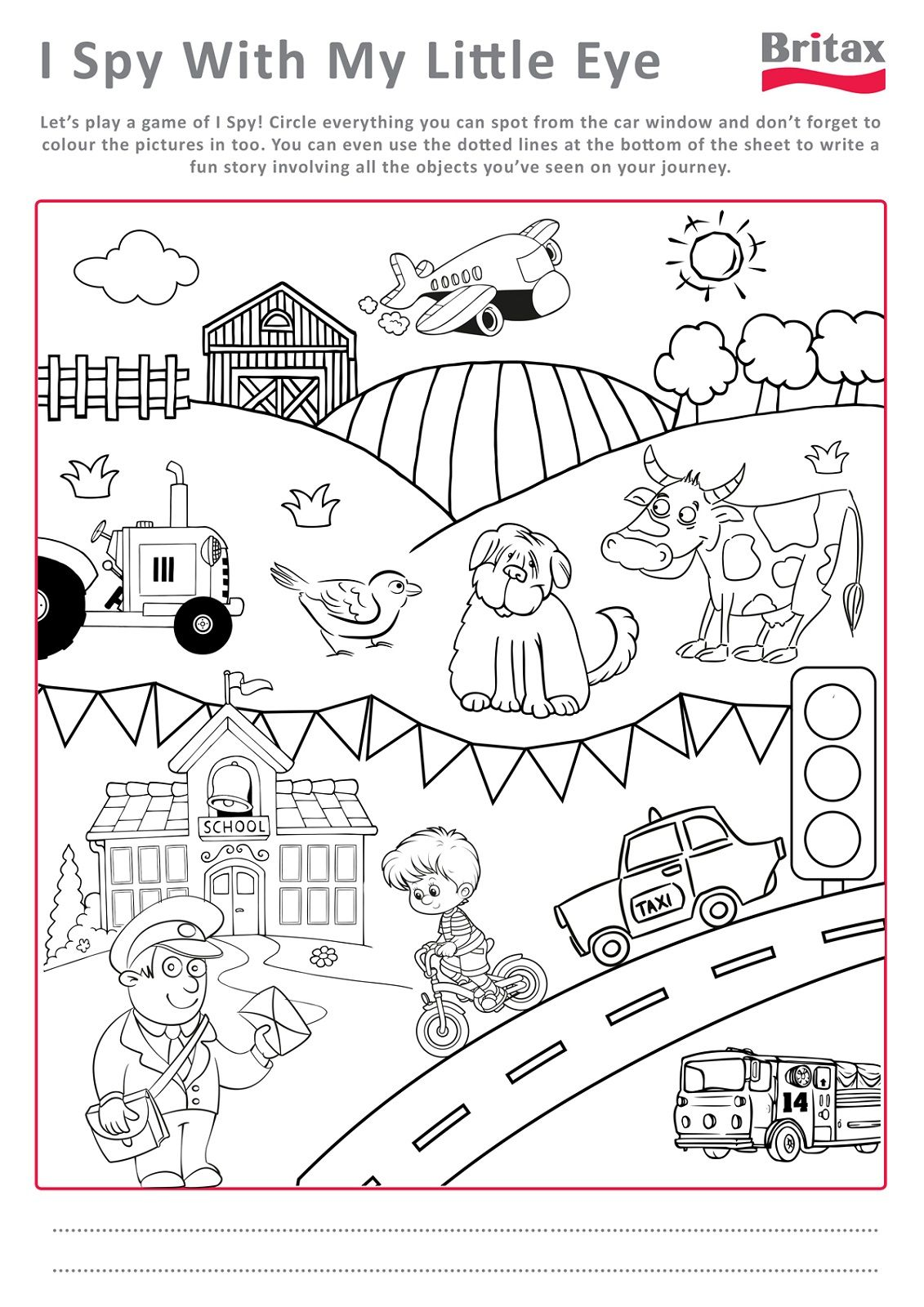 Printable Activity Sheets for Kids | Coloring Pages for Kids ...