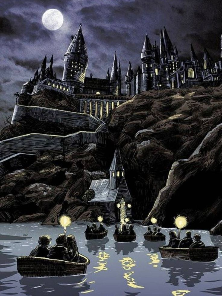 Photo of 5D DIY Diamond Painting Moonnight Hogwarts Castle Mosaic Cross Stitch Full Squar…