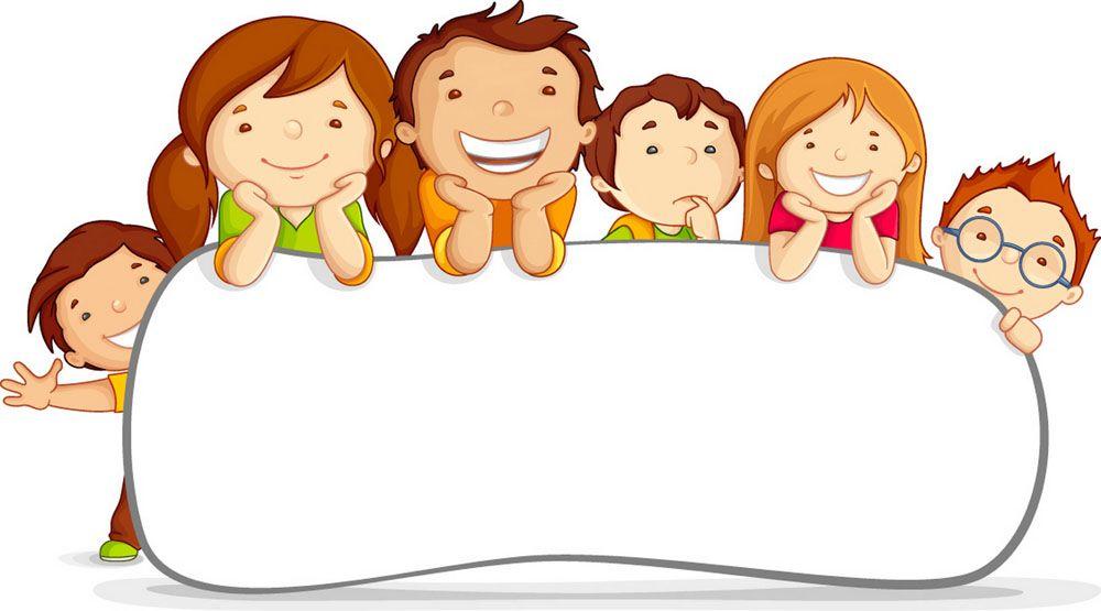 儿童插画 快乐 - Pesquisa Google | Bordes y marcos | Pinterest ...