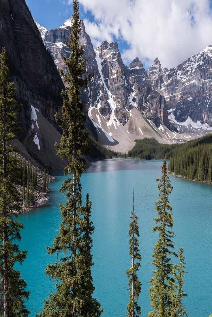 Hike among the mountains, canoe in the lake, or enjoy the