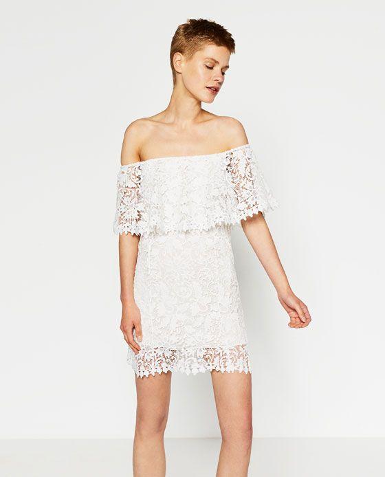 Image 1 of STUDIO GUIPURE DRESS from Zara