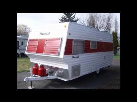 1968 Nomad Vintage Travel Trailer For Sale 6 995 Vintage Camper Vintage Travel Trailers Vintage Trailers Restoration